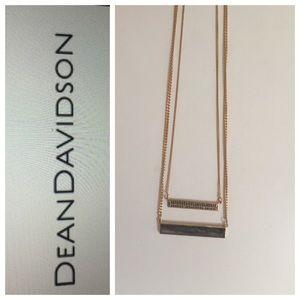 New! Dean Davidson - two bar necklaces